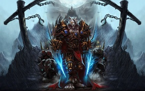Picture World of Warcraft, Worgen, Swords