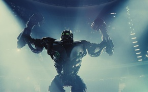 Picture real steel, Zeus, the last round