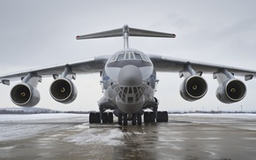 Wallpaper engines, Il 76MD 90A, snow, WFP