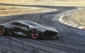 Picture Concept, Auto, Trek, The concept, Lights, Car, Lada, Supercar, Lada, Supercar, Track, Raven, Equal