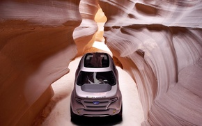 Picture mountains, design, cave, ford, explorer, much