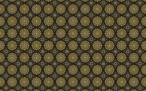 Wallpaper circles, ornament, pattern