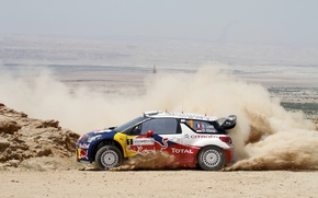 Picture Dust, Citroen, Skid, Citroen, DS3, WRC, Rally, D. Elena, S. Loeb