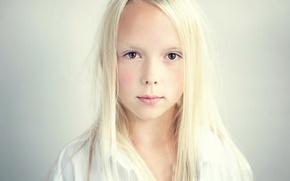 Picture portrait, girl, Elise