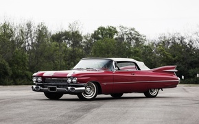 Picture Cadillac, Cadillac, Convertible, 1959, Sixty-Two