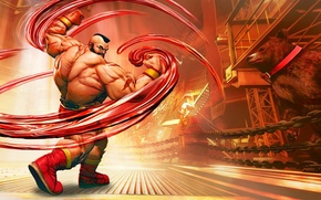 Picture cinema, game, fighter, Russia, bear, anime, man, cartoon, movie, Wrestling, film, martial artist, doll, Street …