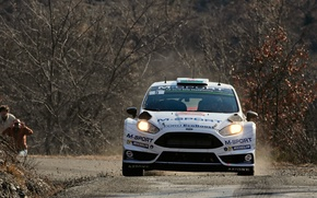 Picture Ford, WRC, Rally, Fiesta, Monte Carlo, The front, Evans