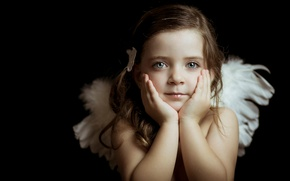 Picture look, portrait, girl, Little Angels, Lucia