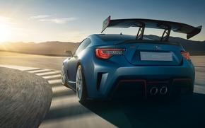 Picture background, Subaru, rear view, Subaru, QUICK, BRZ
