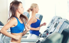 Picture fitness, exercise, treadmill workouts