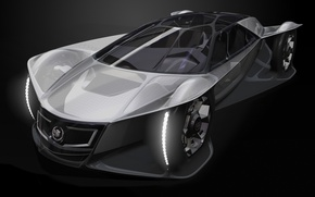 Picture grey, Cadillac, concept