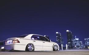 Picture night, the city, lexus, Lexus, is430