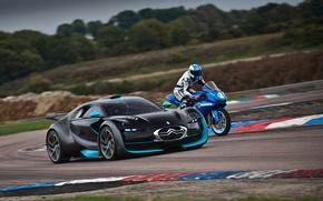Picture Auto, Motorcycle, Racer, Citroen, Survolt, Track, In Motion, Agni