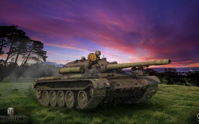 Picture game, weapons, tank, game, weapon, world of tanks, world of tanks, tank, T-55