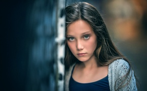 Picture portrait, girl, the beauty, Urban beauty