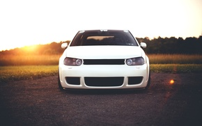 Picture white, before, R32, Golf, Turbo, Mk4
