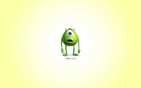 Wallpaper pixar, disney, monster inc., mike