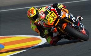 Picture Turn, Motorcycle, Race, Yamaha, MotoGP, Moto, The curb, Espargaro