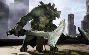 Picture game, warhammer, monster, hammer, Paragon, Grux