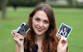 Picture smile, photo, the camera, Imogen
