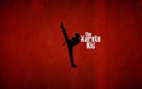 Wallpaper red, background, sport, silhouette, kung fu, Jaden Smith, Jaden Smith, The Karate Kid, The karate ...