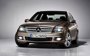 Picture face, Mercedes-Benz, Mercedes, C-Class, S204