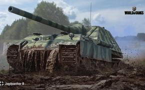 Wallpaper SAU, WoT, World of tanks, World of Tanks, German, Wargaming, Jagdpanther II