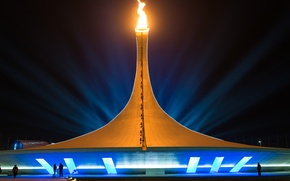 Picture Olympic, Russia, Sochi, The Olympic flame, Olympic Flame Cauldron, Sochi 2014, Sochi, game, 2014, Russia, ...