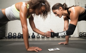 Picture Nike, women, workout, fitness