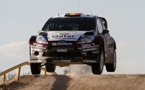Picture ford, Mexico, rally, jump, wrc, fiesta, 2013, T. Neuville