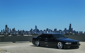 Picture BMW, Boomer, Chicago, BMW, USA, Chicago, tuning, Stance, E38