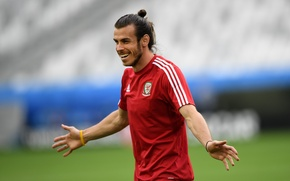 Picture football, player, football, player, Team, Wales, Gareth Bale, Gareth Bale, The European Championship, Euro 2016