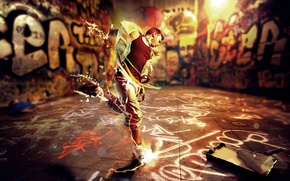 Picture energy, style, music, creative, movement, graffiti, dance, music, guy, colorful, graffiti, rhythm, rhythm, energy, dance