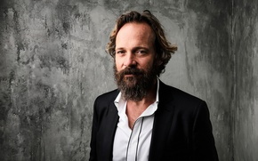 Picture wall, actor, beard, jacket, photoshoot, Pete Сарсгаард, Peter Sarsgaard, Matt Barnes