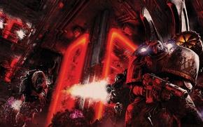 Picture Horus Heresy, Warhammer 40000, space marine, Raven Guard, Gav Thorpe, Primarch, Corax, Ravenlord