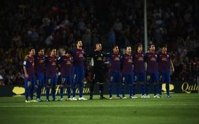 Picture Barcelona, Camp Nou, Racing, Composition