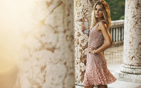 Picture girl, model, Luisa Spagnoli