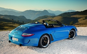 Picture auto, nature, Porsche 911, Speedster