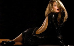 Picture black, dress, blonde, alessandra