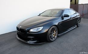 Picture BMW, Frozen, Black, Gran Coupe