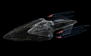 Picture Star Trek, Autocad, The Enterprise