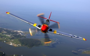 Wallpaper Mustang, P-51, aircraft