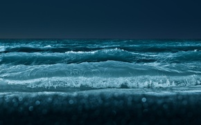 Picture wave, night, storm, surf, picture