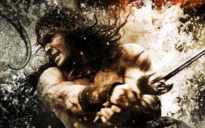 Picture sword, battle, Conan The Barbarian, Conan the barbarian