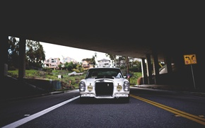 Picture Mercedes, Classic, Stance, W115