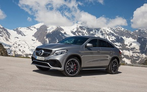 Picture 2015, Mercedes-Benz, Coupe, mountains, AMG, coupe, C292, Mercedes, 4MATIC, GLE 450