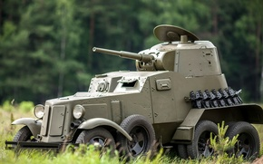 Picture guns, collection, WWII, equipment, armored car, plant, international, Soviet, average, caliber, WW2, private, developed, 45 …
