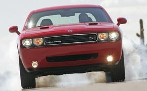Picture machine, speed, Dodge Challenger
