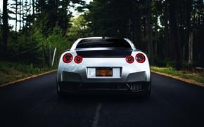 Picture GTR, Nissan, wheels, sports car, Nissan, rear, stance
