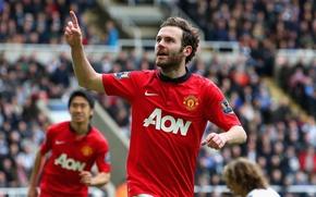 Picture Sport, Football, Spain, Football, London, Sport, Barclays Premier League, Juan Mata, Manchester, Manchester, Juan Mata